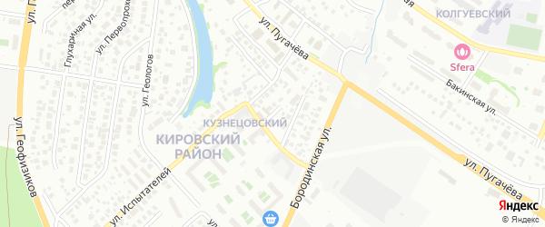 Альпийский переулок на карте Уфы с номерами домов