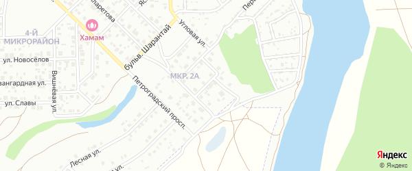 Сквозная улица на карте Салавата с номерами домов