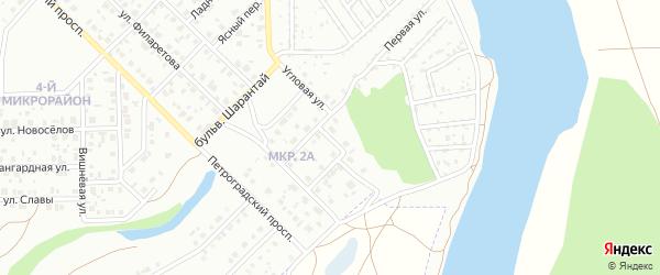 Лесная улица на карте Салавата с номерами домов