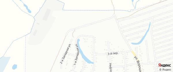 Улица Шевченко на карте Ишимбая с номерами домов