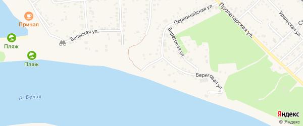 Пристанская улица на карте Благовещенска с номерами домов