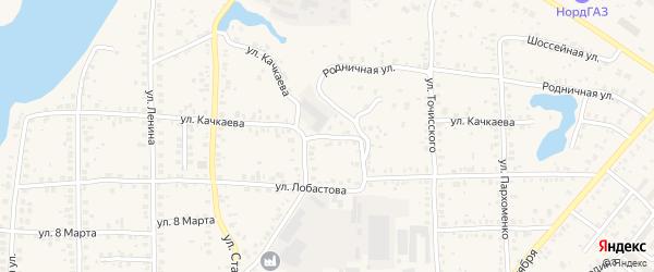 Улица Качкаева на карте Благовещенска с номерами домов