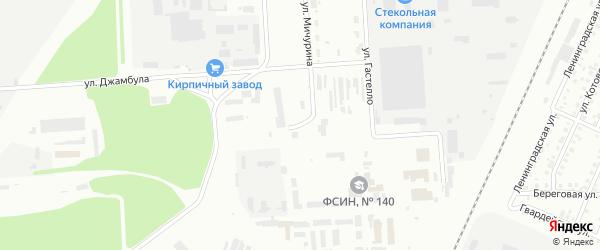 Улица Юлдашева на карте Стерлитамака с номерами домов