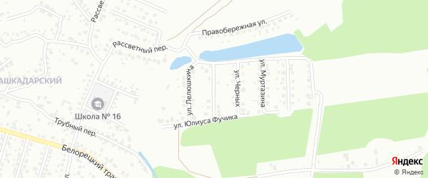 Улица Басманова на карте Стерлитамака с номерами домов