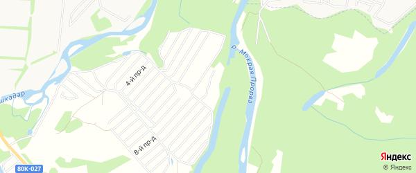 СНТ Ильмень на карте Стерлитамакского района с номерами домов