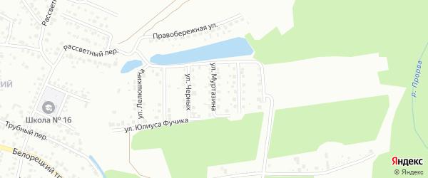 Улица Муртазина на карте Стерлитамака с номерами домов