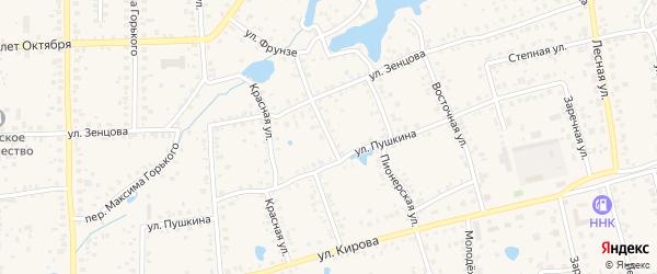 Улица Степана Разина на карте Благовещенска с номерами домов