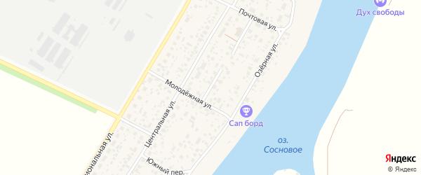 Переулок Свободы на карте деревни Алексеевки с номерами домов