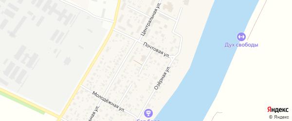 Садовый переулок на карте деревни Алексеевки с номерами домов
