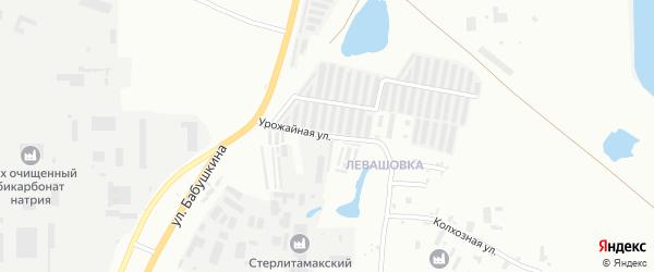 Производственная улица на карте Стерлитамака с номерами домов