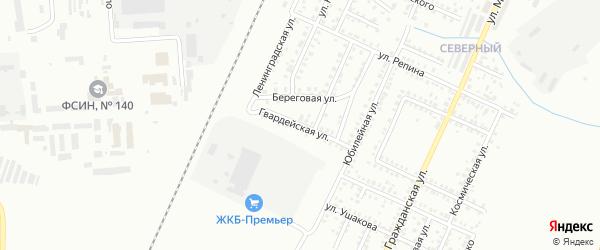 Гвардейская улица на карте Стерлитамака с номерами домов