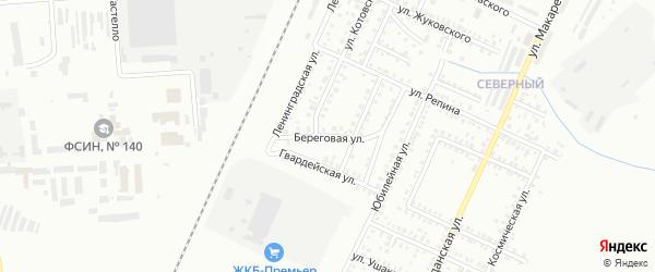 Береговая улица на карте Стерлитамака с номерами домов