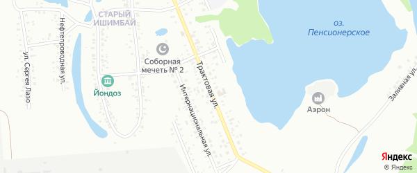 Трактовая улица на карте Ишимбая с номерами домов