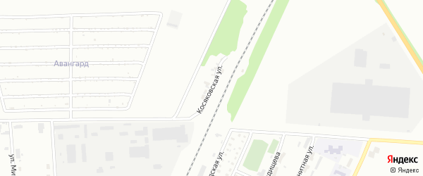 Косяковская улица на карте Стерлитамака с номерами домов
