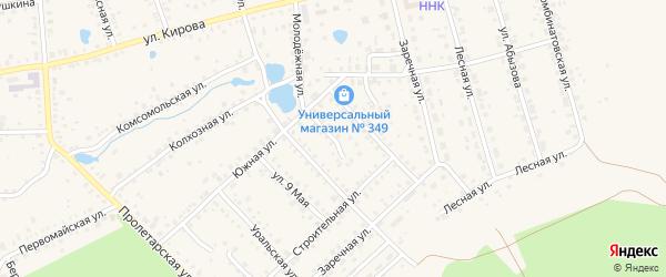 Южный тупик на карте Благовещенска с номерами домов