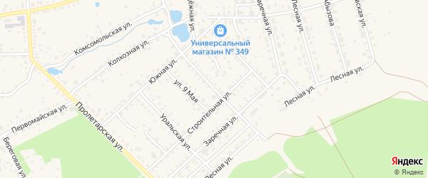 Уфимская улица на карте Благовещенска с номерами домов