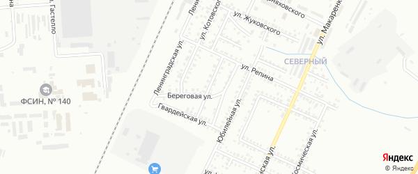Кавказская улица на карте Стерлитамака с номерами домов