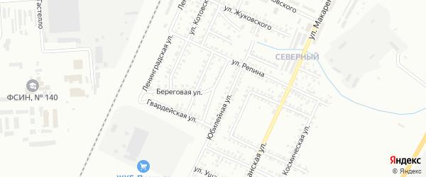 Береговой переулок на карте Стерлитамака с номерами домов