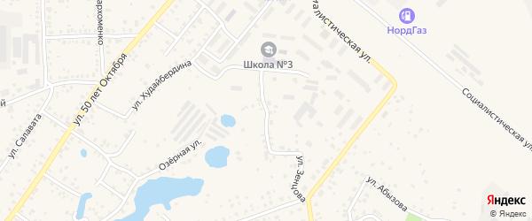 Улица Братьев Кадомцевых на карте Благовещенска с номерами домов