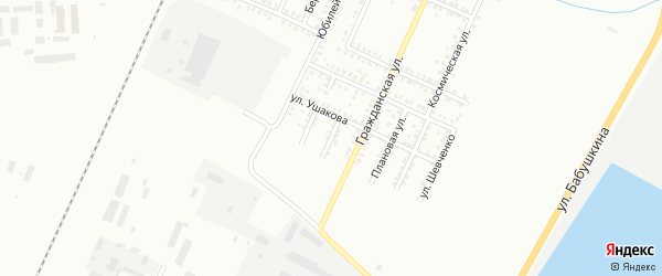 Ушакова 2-й переулок на карте Стерлитамака с номерами домов