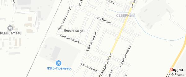 Юбилейная улица на карте Стерлитамака с номерами домов
