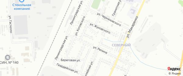 Переулок Репина на карте Стерлитамака с номерами домов
