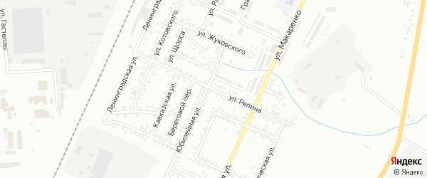 Улица Репина на карте Стерлитамака с номерами домов