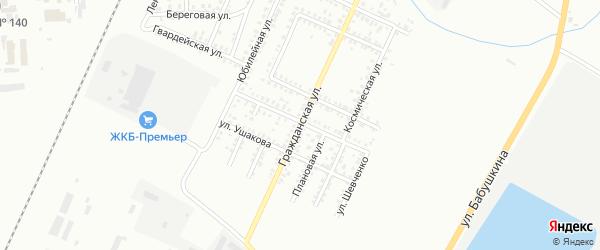Гражданская улица на карте Стерлитамака с номерами домов
