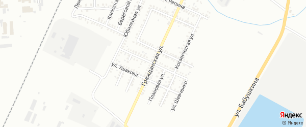 Демократическая улица на карте Стерлитамака с номерами домов