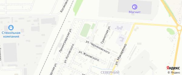 Улица Радищева на карте Стерлитамака с номерами домов