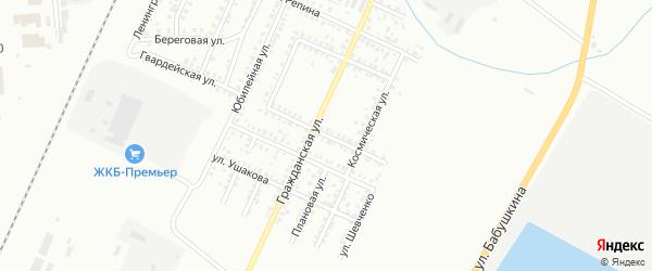 Улица Аксакова на карте Стерлитамака с номерами домов