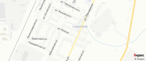 Юбилейный переулок на карте Стерлитамака с номерами домов