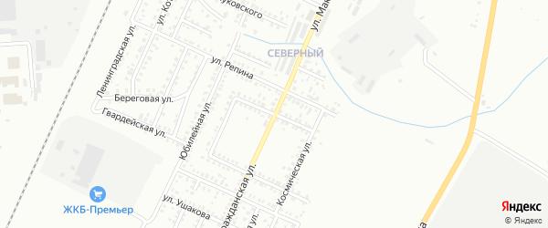 Улица Володи Дубинина на карте Стерлитамака с номерами домов