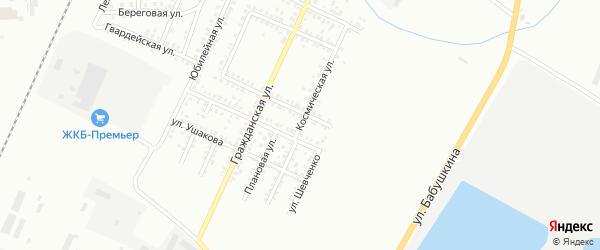 Космическая улица на карте Стерлитамака с номерами домов