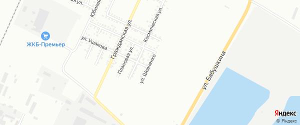 Улица Шевченко на карте Стерлитамака с номерами домов