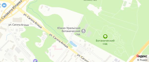 Полярная улица на карте Уфы с номерами домов