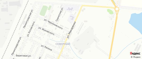 Улица Макаренко на карте Стерлитамака с номерами домов