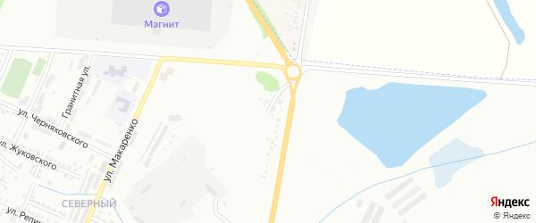 Совхозная улица на карте Стерлитамака с номерами домов