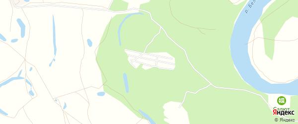 СНТ Зеленый Затон на карте Стерлитамакского района с номерами домов