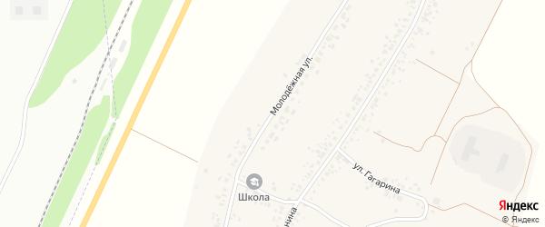 Молодёжная улица на карте села Косяковки с номерами домов