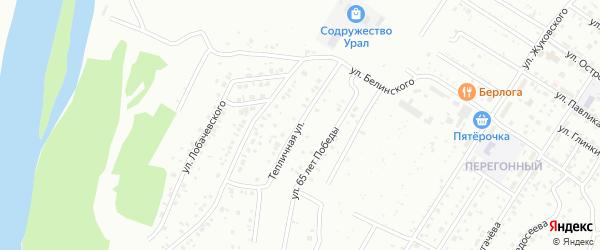 Тепличная улица на карте Ишимбая с номерами домов