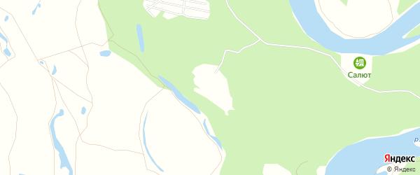 СНТ Нива на карте Стерлитамакского района с номерами домов
