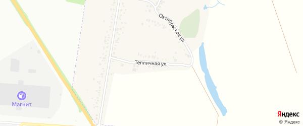 Тепличная улица на карте села Косяковки с номерами домов