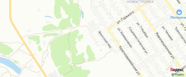 Кольцевая улица на карте Ишимбая с номерами домов