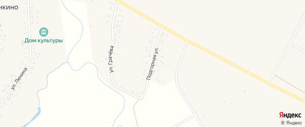 Подгорная улица на карте Уфы с номерами домов