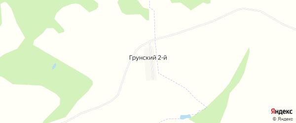 Карта деревни Грунского 2-й в Башкортостане с улицами и номерами домов