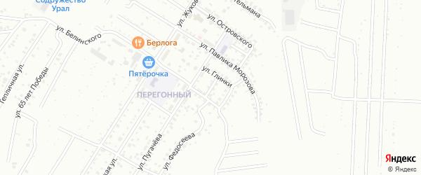 Улица В.Дубинина на карте Ишимбая с номерами домов