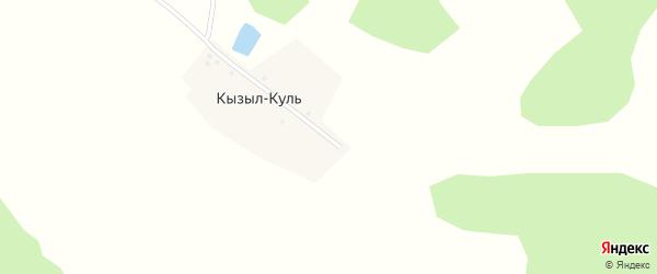 Улица Гагарина на карте деревни Кызыла-Куля с номерами домов