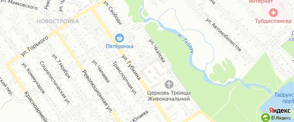 Улица Свободы на карте Ишимбая с номерами домов