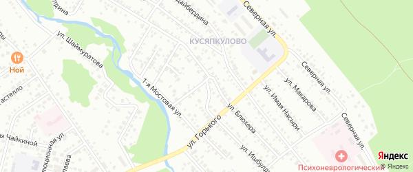 Улица Ишбулдина на карте Ишимбая с номерами домов